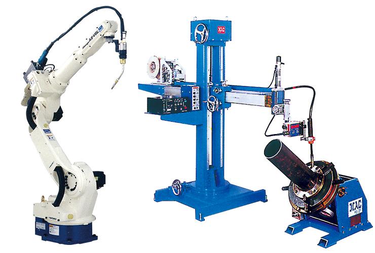 産業用ロボットとトータルマック